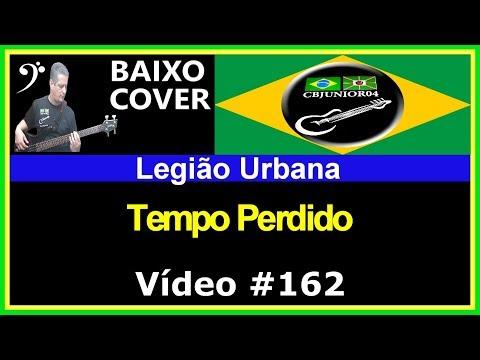 Legião Urbana - Tempo Perdido (no BAIXO com Tablatura) bass cover tab
