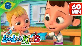 Vem, Vem, Vem Comigo (Skip to My Lou) - Canções infantis  | LooLoo Kids Portuguêss