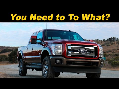 2015 & 2016 Ford SuperDuty (F250 F350 F450) Review - DETAILED in 4K