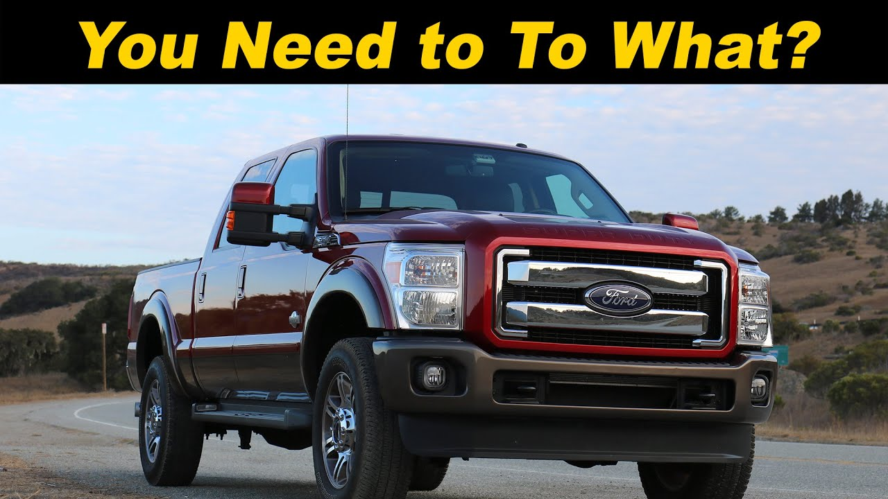 2015 & 2016 Ford SuperDuty F250 F350 F450 Review DETAILED in 4K