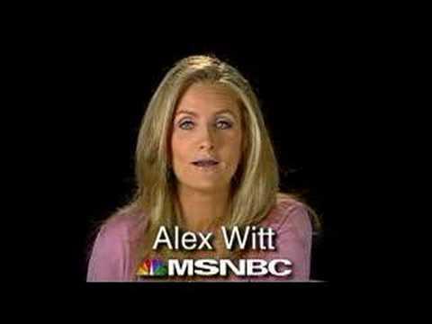Alex Witt's Guilty Pleasures