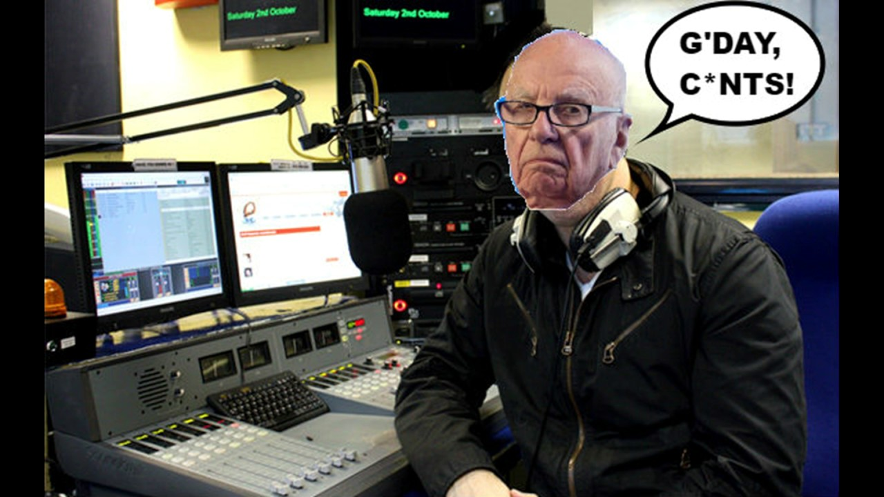 G'DAY, C*NTS! with Rupert Murdoch (pre-election special 2017)