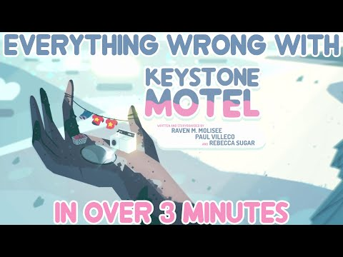 """Everything Wrong With Steven Universe's """"Keystone Motel"""" In Over 3 Minutes (Ft. Mister Awesome)"""