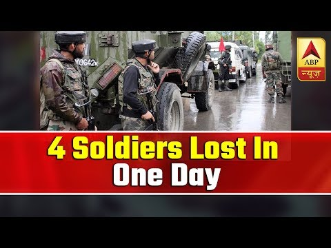4 Soldiers Lost In One Day | Seedha Sawal | ABP News