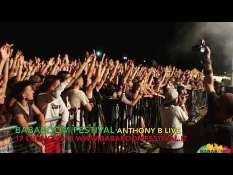Anthony B Live concert Bababoom Festival
