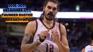 2016-2017 Oklahoma City Thunder Roster Breakdown: NBA 2k17 Rosters