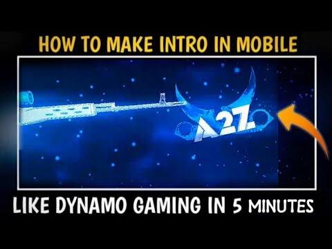 How to make gaming intro like dynamo gaming || dynamo gaming intro making