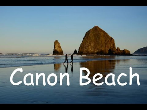 Haystack Rock at Canon Beach , Oregon USA ( How to photograph )