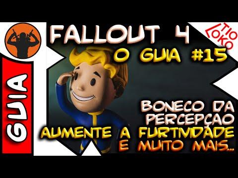 Fallout 4 O GUIA #15 Boneco de Percepção + Mais Furtividade + Jogo PipBoy + Célula de Fusão