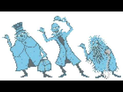 Grim Grinning Ghosts 8 bit