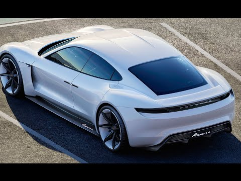 New Porsche Electric Car Mission E 2017
