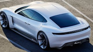 New Porsche Electric Car Porsche Mission E 2017 First Commercial Porsche Frankfurt 2015 IAA CARJAM