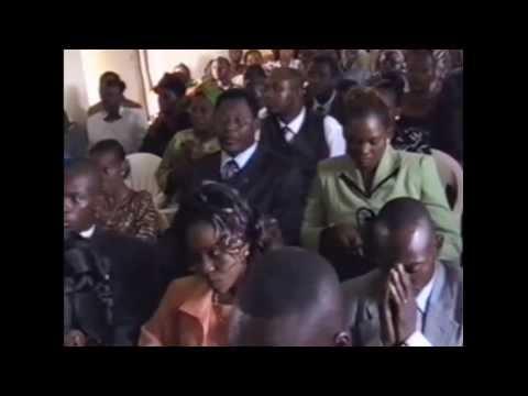 UK-CONGO VOICE: FACE AU PUBLIC DANS LE MARIAGE CIVIL D'AIMEE MULENGELA KABILA PART 1. ARCHIVES.