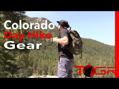 Colorado Day Hike Gear Load Out - What I Carried and Used