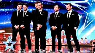 Fair Play Crew are dressed to impress | Week 2 Auditions | Britain's Got Talent 2016