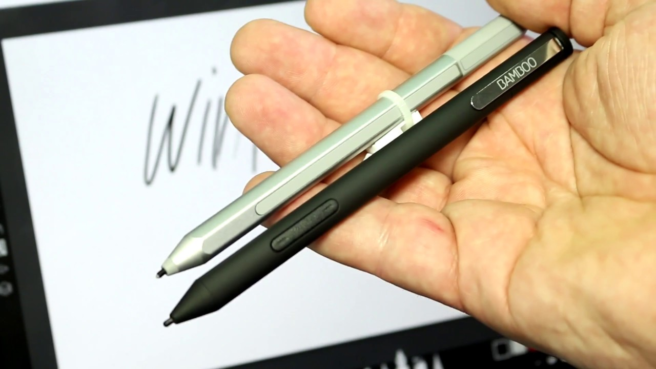 Wacom Bamboo Ink vs Surface Pen - FIRST HANDS ON + COMPARISON