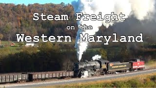 Steam Freight on the Western Maryland