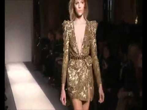 Balmain Fall Winter 2010 Full Fashion Show Womenswear ...