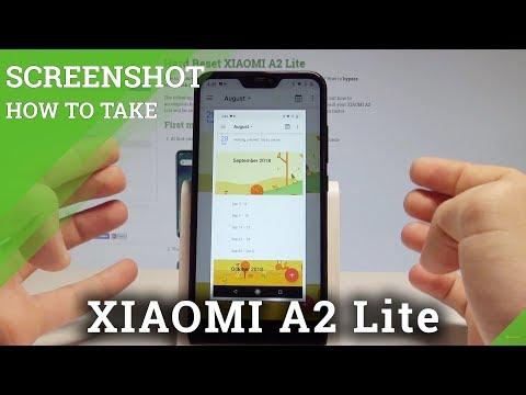 How To Take Screenshot On XIAOMI A2 Lite - Capture Screen |HardReset.Info