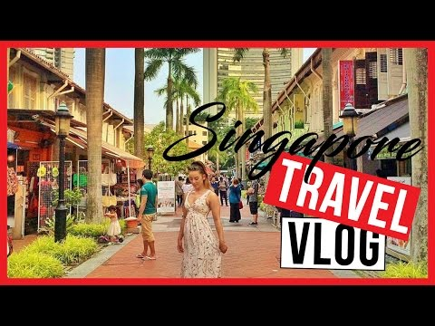 ARAB STREET & KAMPONG GLAM, SINGAPORE DAG 2 - TRAVEL VLOG 134 - SINGAPORE | JanaaTV