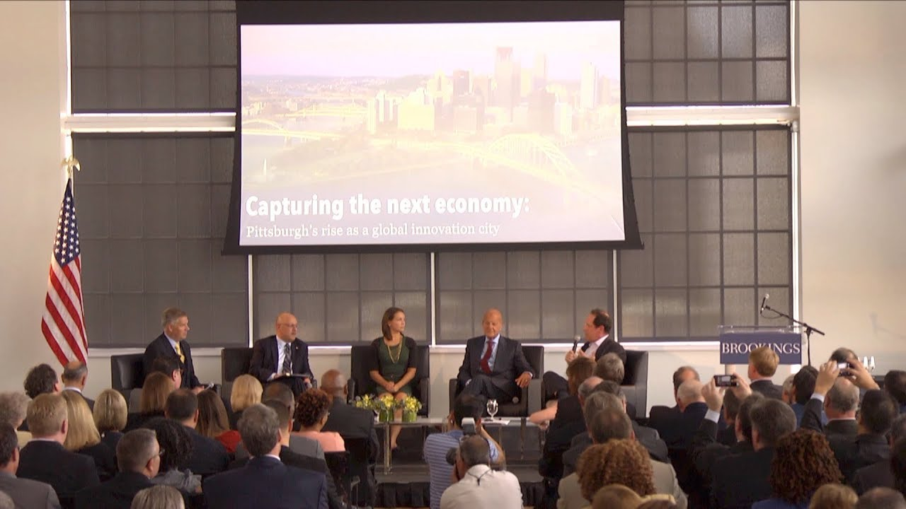Capturing the next economy: Pittsburgh's rise as a global