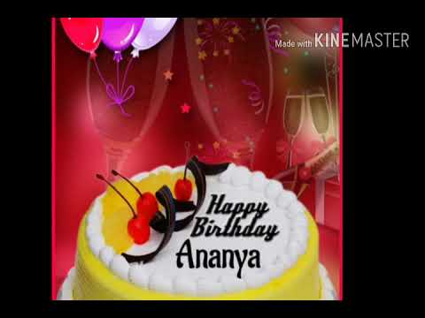 happy birthday ananya wishes greetings quotes sms saying e card