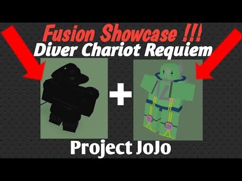 Diver Silver Chariot Requiem Fusion Showcase Project Jojo Youtube