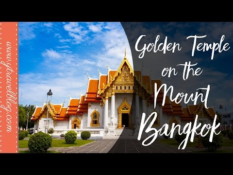 Golden Temple on the Mount Bangkok | Thailand With Kids