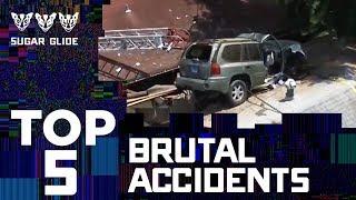 TOP 5  Most Brutal Accidents 🏠💢🚙| Sugar Glide | Telemundo English