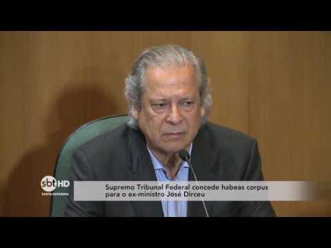 Supremo Tribunal Federal concede habeas corpus para o ex-ministro José Dirceu