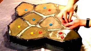 видео Светящиеся камни для ландшафтного дизайна: примеры дизайна + как сделать своими руками