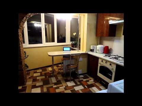 Оригинальные примеры совмещения кухни с балконом и лоджией