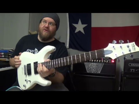 Schecter C-6 Deluxe Unboxing and Test