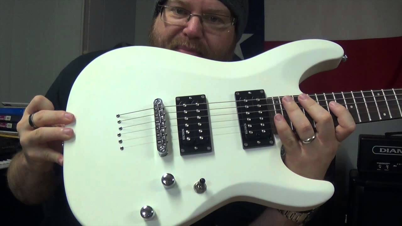 schecter c 6 deluxe unboxing and test youtube. Black Bedroom Furniture Sets. Home Design Ideas