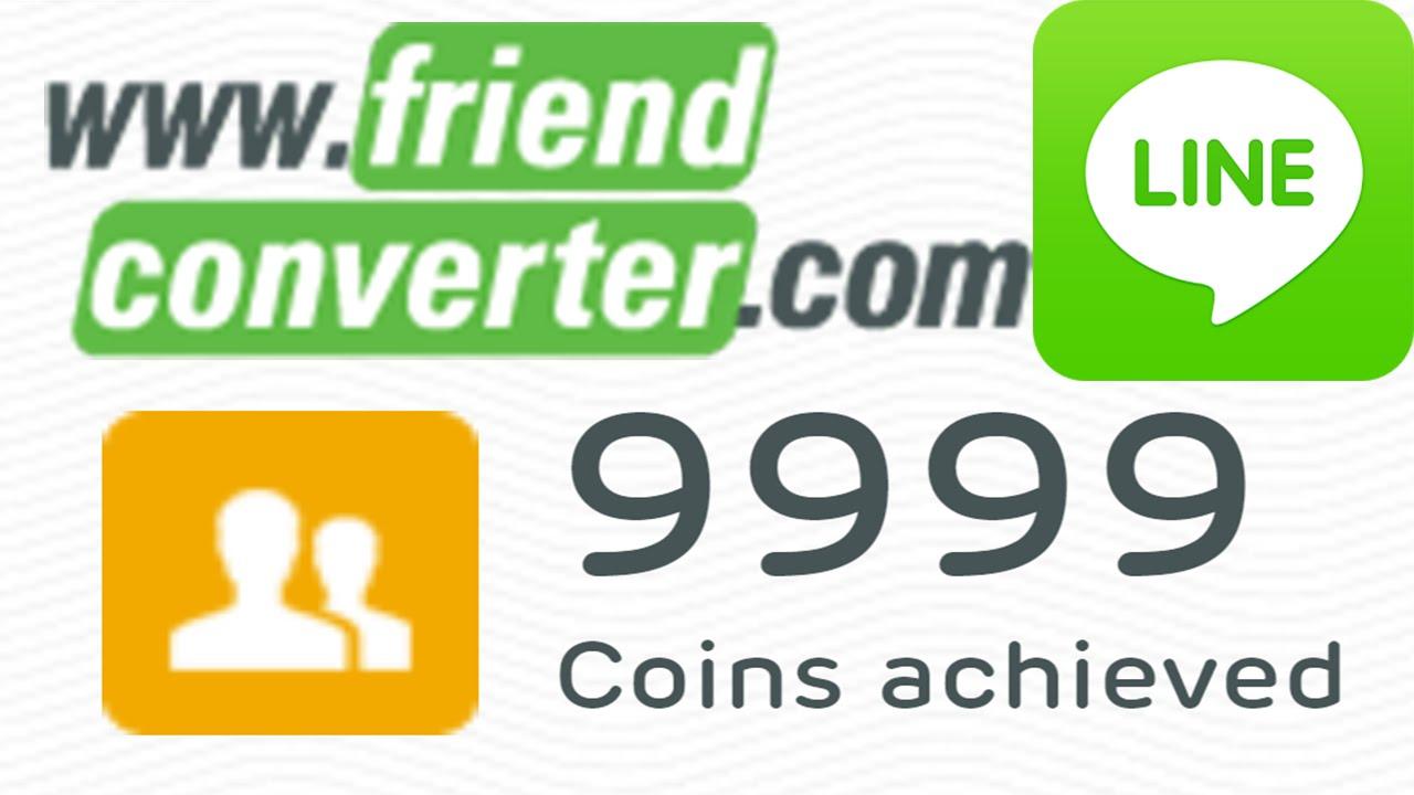 How to Hack LINE : Friend Converter Friend Coins Part-2