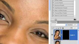 How Soften Skin Using Dust And Scratches Photoshop Lesson 22