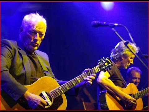 David Gilmour & Roger Waters (Pink Floyd) Live 2010 (Palestinian Charity)