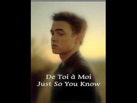 How to say just so you know in french