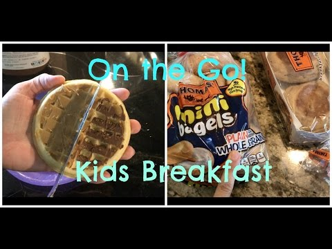 Quick Easy Healthy Kids Breakfast on the Go