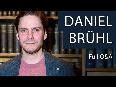 Daniel Brühl | Full Q&A at The Oxford Union
