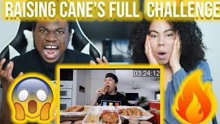 Matt Stonie Raising Cane's Fขll Menu Challenge!! (All 5 Combo Meals) - Reaction !!