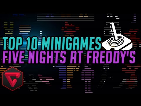TOP 10 MINIJUEGOS | Five Nights at Freddy's 1,2 & 3 - FNAF Death & Win Minigames