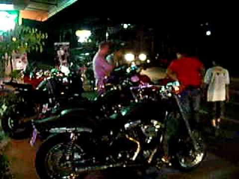 Ducati Harley on Koh Samui Thailand at Ohm Cycles Samui