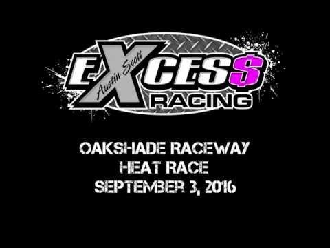 Oakshade Raceway - Heat Race - September 3, 2016