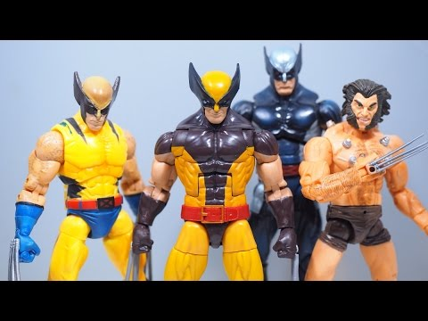 Marvel Legends WOLVERINE (Juggernaut BAF) Figure Review ...