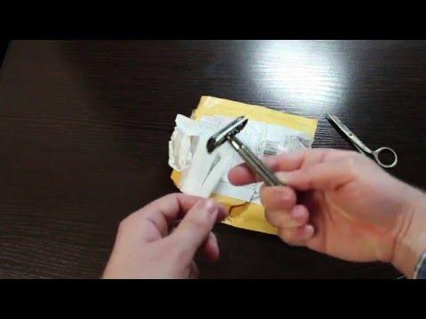 видео: Посылка с aliexpress -  бритва weishi 9306-c