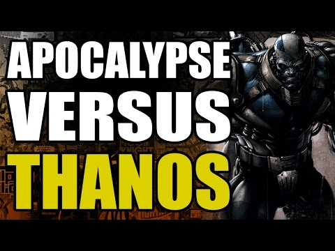 Marvel Comics: Apocalypse vs Thanos
