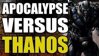 Marvel Comics: Apocalypse vs Thanos