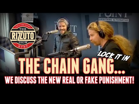 CHAIN GANG punishment is locked in! Get all the details... [Rizzuto Show]