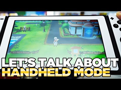 Hands-On Experience with Handheld Mode - Pokemon Let's go Pikachu and Eevee